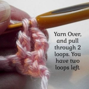 Extended Double Crochet - Step 4