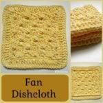 Fan Dishcloth