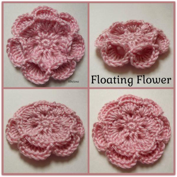 Floating Flower ~ FREE Crochet Pattern