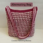 Alternating Bag ~ FREE Crochet Pattern