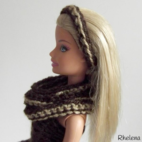 Barbie Headband and Cowl ~ FREE Crochet Pattern