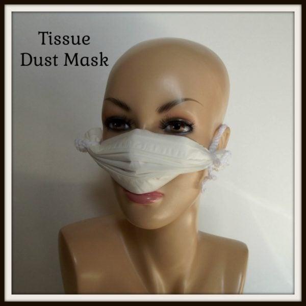 Tissue Dust Mask ~ FREE Crochet Pattern