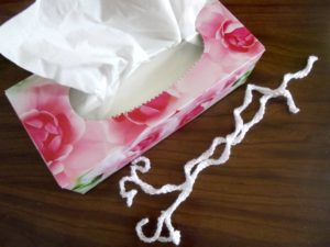 Your Tissue and the Two Crocheted Strings