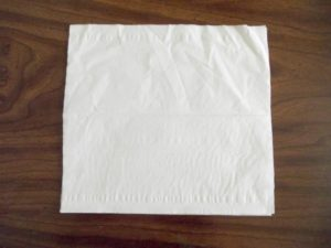 Lay the Tissues Flat