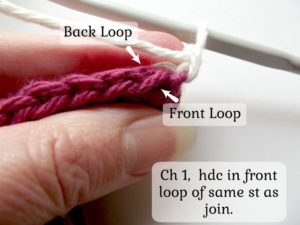 Alternating Between Front and Back Loops - 1