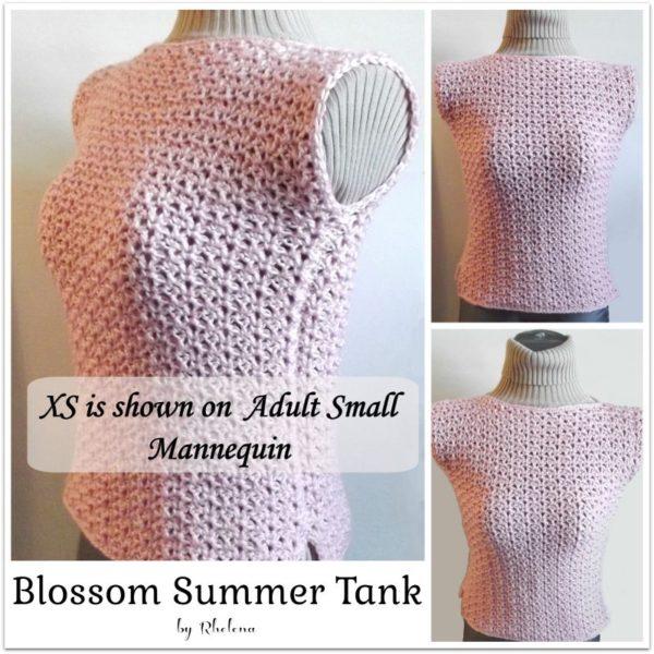 Blossom Summer Top ~ FREE Crochet Pattern