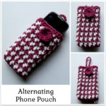 Alternating Phone Pouch