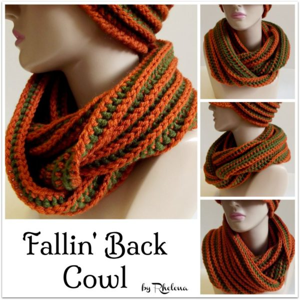 Fallin' Back Cowl by Rhelena