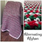 Alternating Afghan ~ Free Crochet Pattern