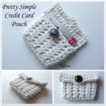 Pretty Simple Credit Card Pouch