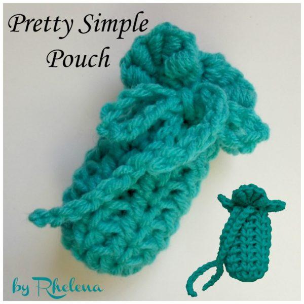 Pretty Simple Pouch ~ FREE Crochet Pattern