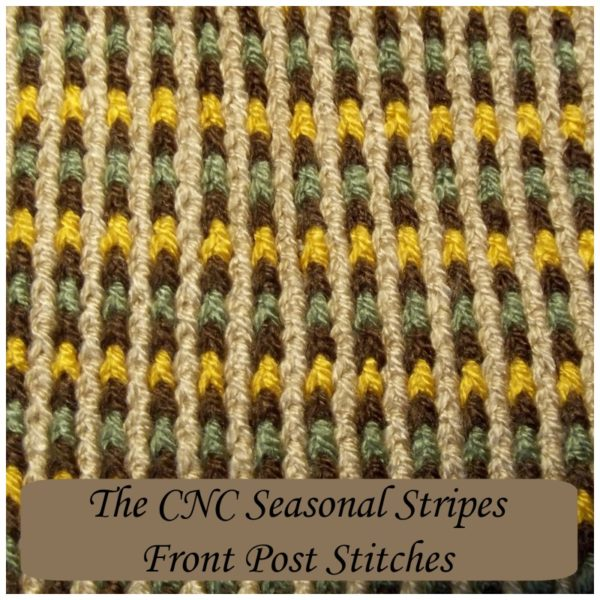 How to Crochet the CNC Seasonal Stripes - CrochetNCrafts