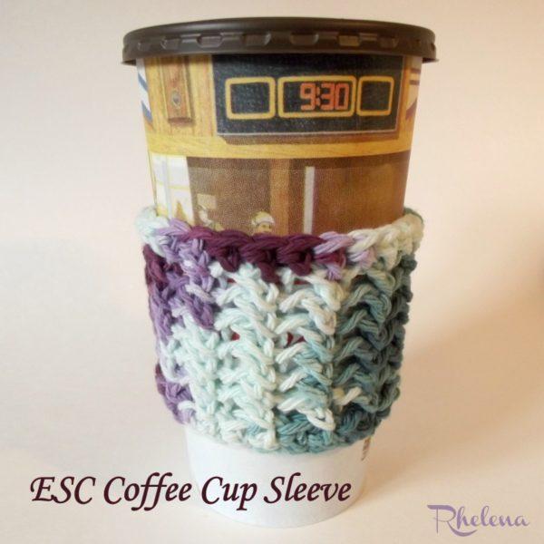 Esc Cup Sleeve ~ FREE Crochet Pattern
