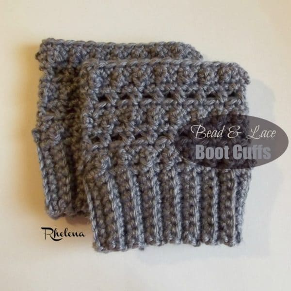 Bead And Lace Boot Cuffs Crochetncrafts