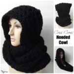 Criss Cross Hooded Cowl