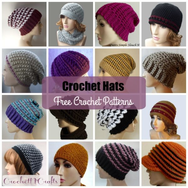 Crochet Hats ~ FREE Crochet Patterns