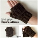 Pretty Simple Fingerless Gloves