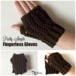 Pretty Simple Fingerless Gloves