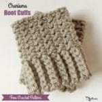 Charisma Boot Cuffs ~ FREE Crochet Pattern
