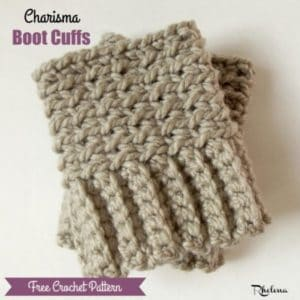 Charisma Boot Cuffs by CrochetNCrafts
