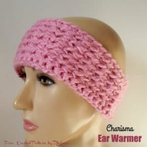 Charisma Ear Warmer by CrochetN'Crafts
