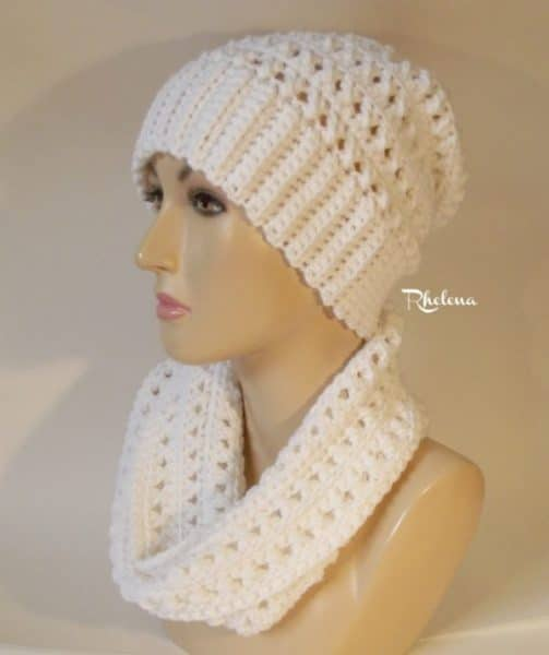 Criss Cross .Cowl ~ FREE Crochet Pattern