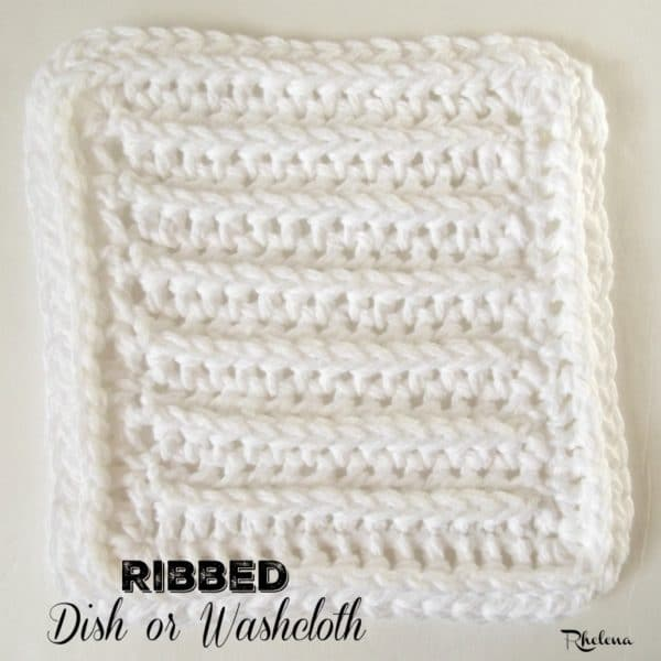 Ribbed Dish Or Washcloth Crochetncrafts