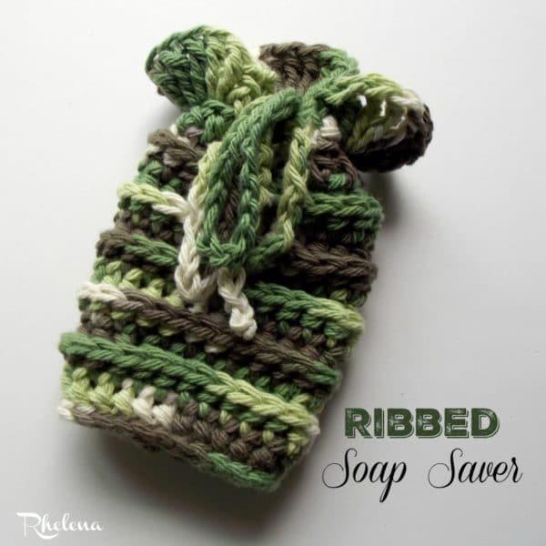 Ribbed Soap Saver Crochetncrafts