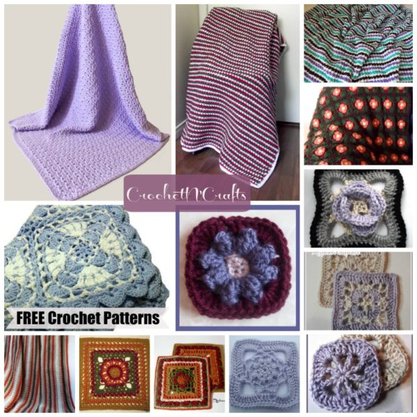 Afghans & Squares ~ FREE Crochet Patterns