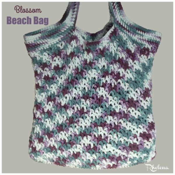 Blossom Crochet Beach Bag Pattern