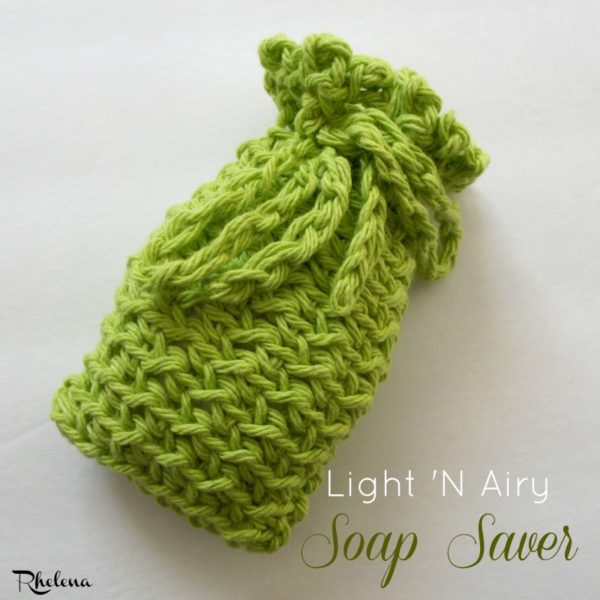 Light 'N Airy Soap Saver ~ FREE Crochet Pattern
