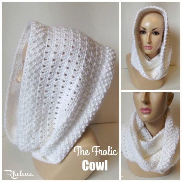 The Frolic Cowl ~ FREE Crochet Pattern