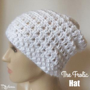 The Frolic Hat ~ FREE Crochet Pattern
