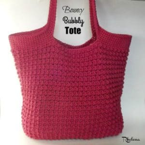 Bouncy Bubbly Tote by CrochetN'Crafts