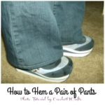 How to Hem a Pair of Pants