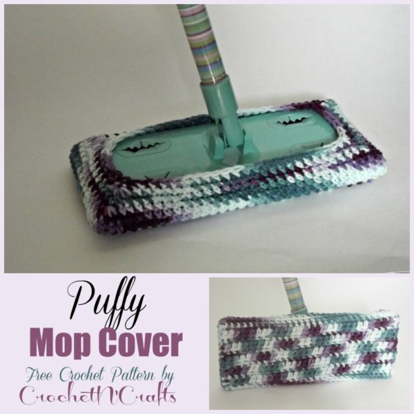 Puffy Mop Cover Crochetncrafts