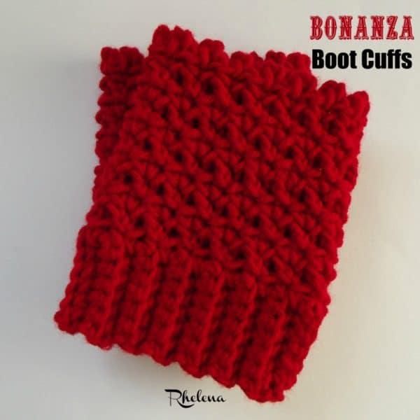 The Bonanza Boot Cuffs Crochetncrafts