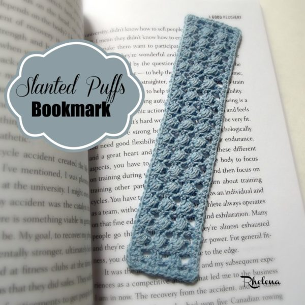 Slanted Puffs Bookmark ~ FREE Crochet Pattern
