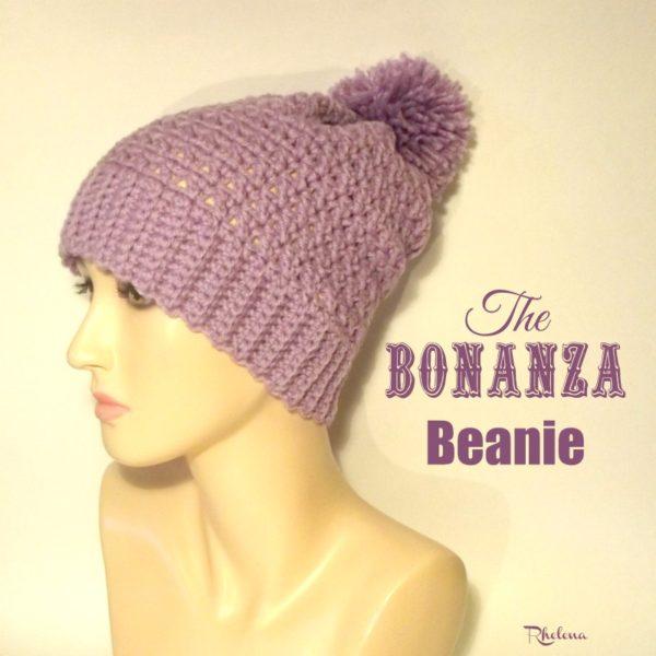The Bonanza Beanie ~ FREE Crochet Pattern