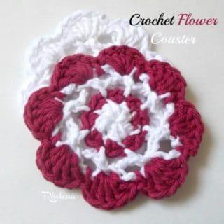 Crochet Flower Coaster ~ FREE Crochet Pattern