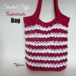 Slanted Puffs Summer Bag