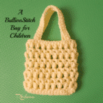 A Bullion Stitch Bag for Children