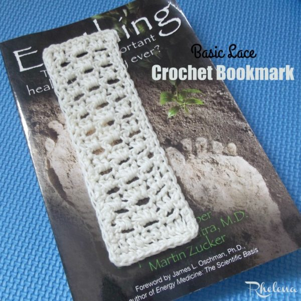 Basic Lace Crochet Bookmark ~ FREE Crochet Pattern