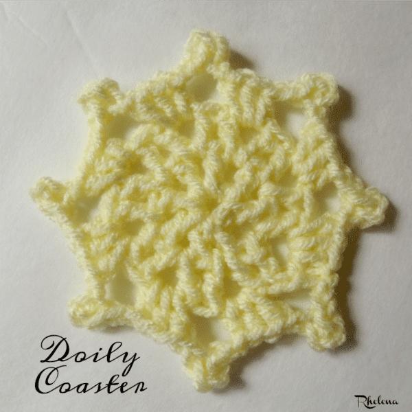 Doily Coaster ~ FREE Crochet Pattern