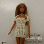Criss-Cross Around the Waist Fashion Doll Dress