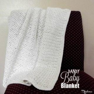 Dandy Baby Blanket ~ FREE Crochet Pattern