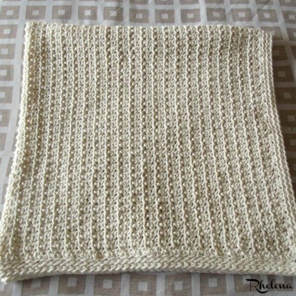Dandy Baby Blanket ~ Folded Up