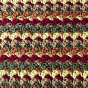 Swish-Swash Baby Fall Blanket - Closeup