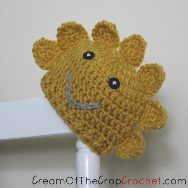 Preemie/Newborn Sun Hat Pattern by Cream Of The Crop Crochet