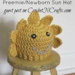 Preemie/Newborn Sun Hat Pattern by Cream Of The Crop Crochet
